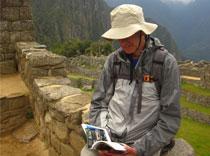 D reading Machu Pichu