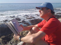 D reading at Seashore